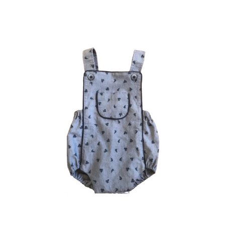 Romper PETIT LAPIN Infantil Azul
