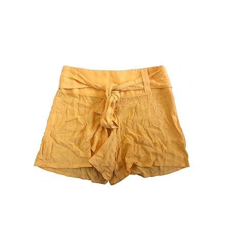 Shorts FARM Feminino Amarelo