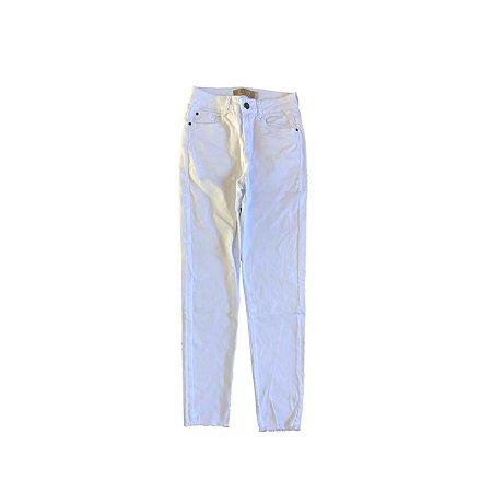 Calça Jeans SPEZZATO Feminina Branca