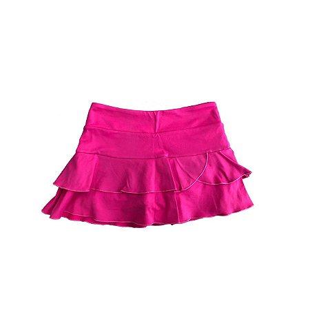 Shorts Saia Mania D'menina Rosa