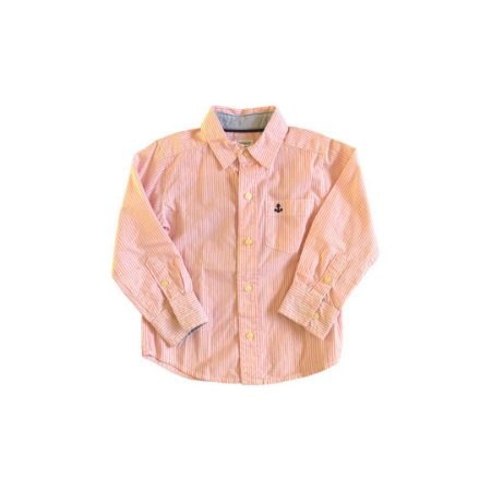 Camisa Carter's Listrada Rosa e Branca