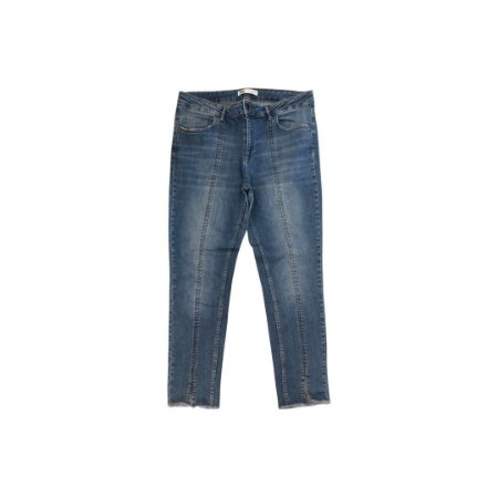 Calça Jeans ZARA Feminina Costura na Frente
