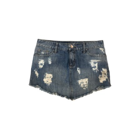 Saia Jeans FOUR ONE Desfiada