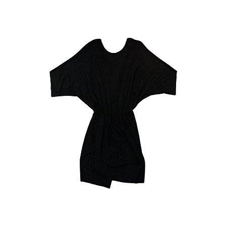 Vestido Preto com Decote Costas