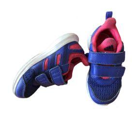 Tênis Roxo e Rosa (Mais Surrado) Adidas