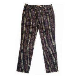 Calça Animale Feminina Roxa Jeans