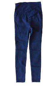 Calça Jeans Preta Gestante Mama H&M