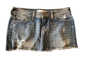 Saia Jeans Destroyed Ateen