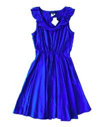 Vestido Azul Royal Maria Garcia