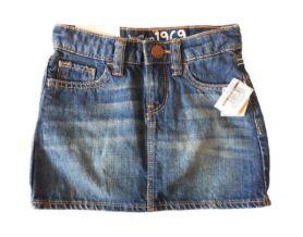 Saia Jeans com Calcinha  Baby Gap