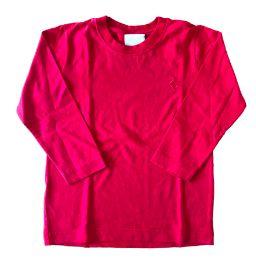 Blusa Vermelha Manga Longa Mini Vida
