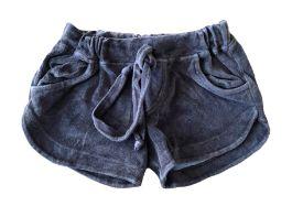 Shorts de Plush Marrom Mini Vida
