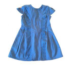 Vestido Azul Petróleo com Detalhes Bebé Sucré