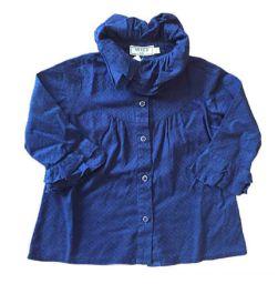 Camisa Azul Marinho Mixed