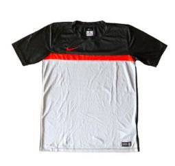 Camiseta Dry Fit Cinza e Laranja Nike