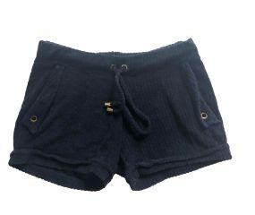Shorts Atoalhado Preto Orange