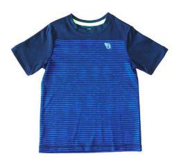Camiseta Preta e Azul Listras OshKosh