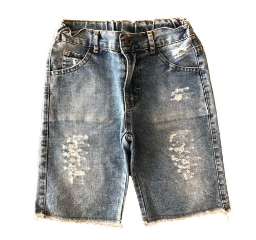 Bermuda Jeans Claro Destroyed Daya