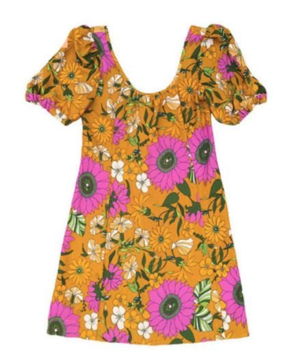 Vestido Florido Estampado Farm