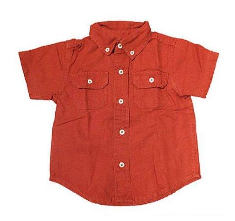 Camisa Manga Curta Terra Gymboree