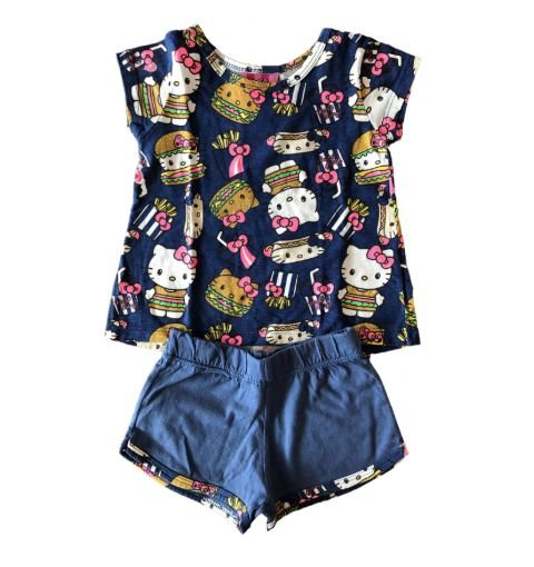 Conjunto Azul Hello Kitty Hello Kitty