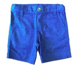 Shorts Azul e Branco Paola Bimbi