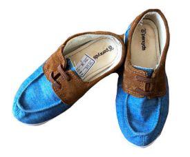 Sapato Jeans e Marrom Perkids