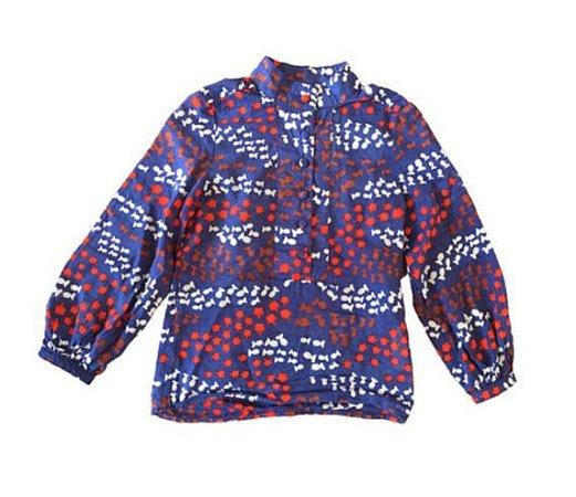 Camisa Azul Coroas e Rainhas Issa para C&A