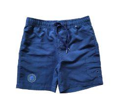 Bermuda Azul Marinho com Elástico Póim