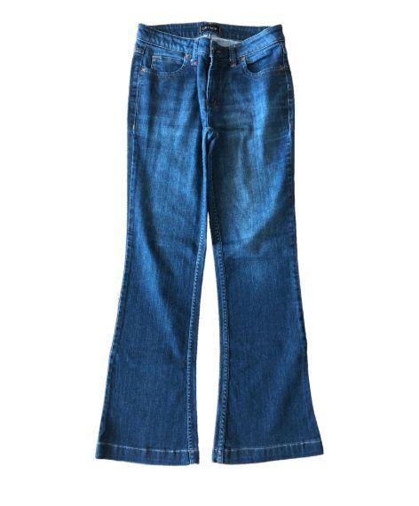Calça Jeans Escura Letage