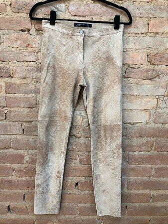 Calça imitando Couro Zara