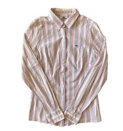 Camisa Listrada Cores Lacoste