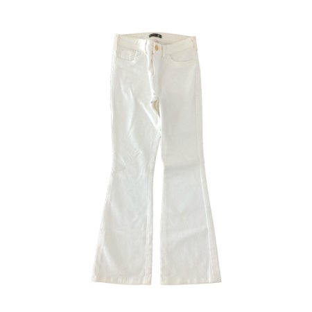 Calça Jeans Branca Flaire Mixed para C&A