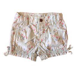 Shorts Verde com Florzinha Teddy Boom