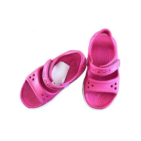 Sandália Rosa Escuro Crocs