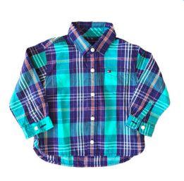 Camisa Xadrez Verde Tommy Hilfinger