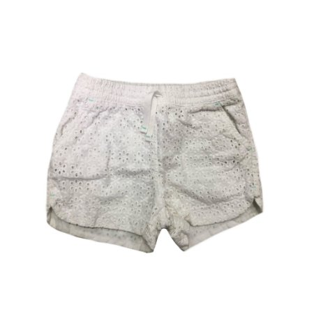 Shorts Branco Lese Cat&Jack