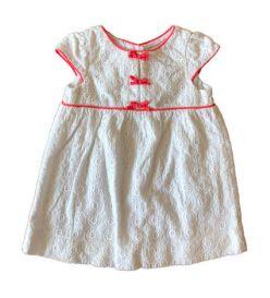 Vestido Branco de Renda com Lacinhos Zara Bay