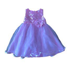 Vestido de Festa com Tule Rosa Raze Editions