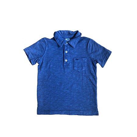 Polo Carter's Infantil Azul Marinho NOVA