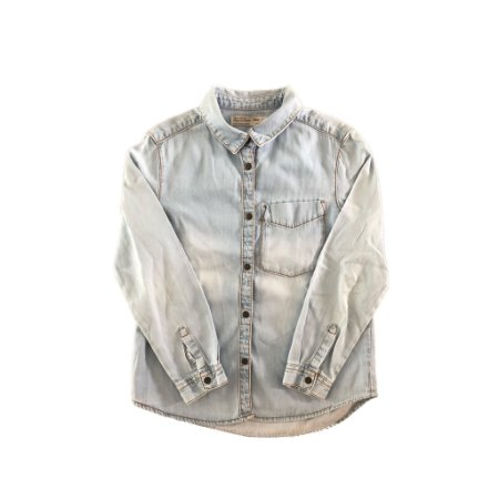 Camisa Jeans Claro Zara Girls