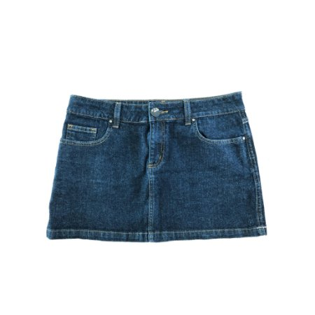 Saia Jeans Escura Bobstore