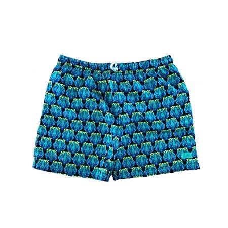 Shorts Verde, Azul e Preto Tigre L' ete