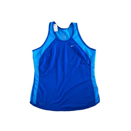Regata Dri Fit Azul Nike