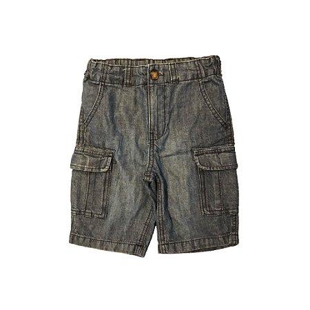Bermuda Carter's Infantil Preto Jeans