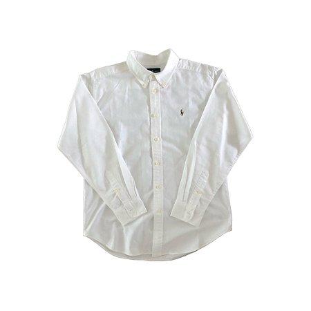 Camisa Branca Ralph Lauren