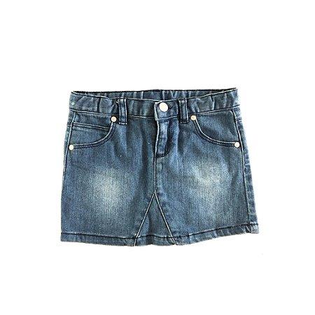 Saia Jeans com Stretch Chicco