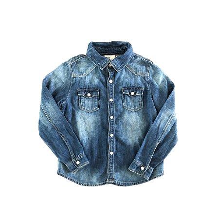 Camisa Jeans H&M