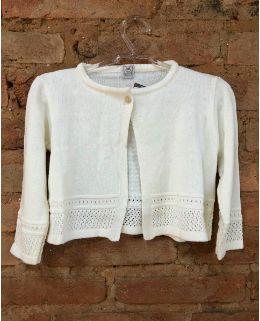 Casaquinho Tricot Branco