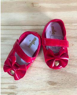 Sapato Verniz Vermelho Milon